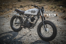 SUZUKI GD110 SCRAMBLER : The Ray of Cracy by Zeus