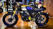 Stallion centaur 150 Cafe custom by DarkZeroBikeSh