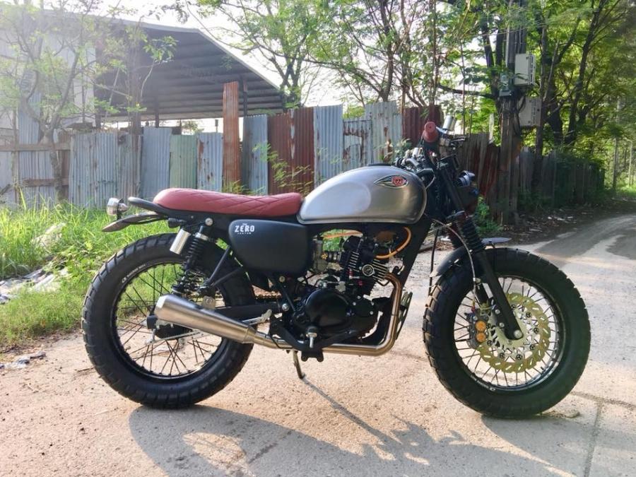 Kawasaki w175 Custom by Zero Custom